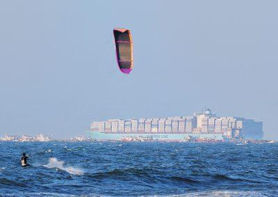 High Seas windsurfing Port saïd Egypte