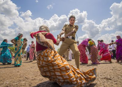Playing with the Policewoman Hyderabad Inde