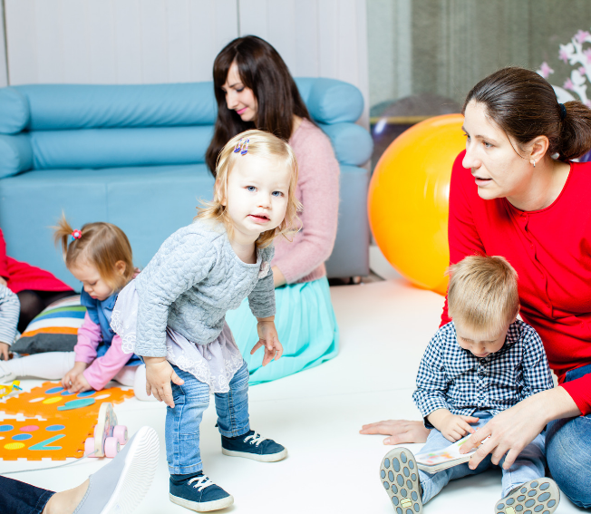 Workshops for toddlers: Bébé Alliance